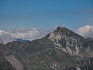 Finsteraarhorn e Pizzo del Forno allineati