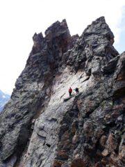 scesi in doppia dalla cima Canzio