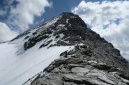 seguendo la cresta non si pesta neve