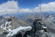 la cima con vista sulla Valgrisanche