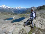 contemplando il panorama: laghi e Bianco