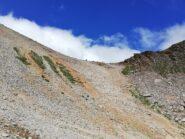Il Colle visto scendendo lato Valsavarenche