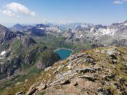 Lago del Vannino dalla cima