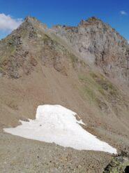 Corno Centrale e Corno Occidentale del Nefelgiù dalla cima