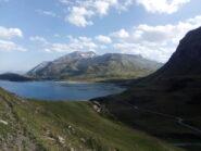 Il lago del Moncenisio.