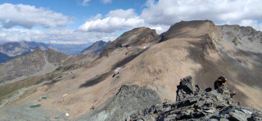 Punta Leynir e Taou Blanc sullo sfondo