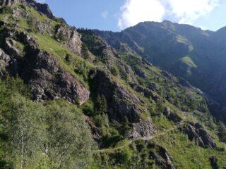 Sentiero G1 e palestra di roccia