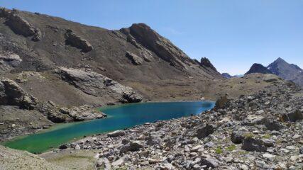 Lago del Vallonasso e Rifugio Barenghi