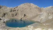 Tete de la Frema e il lago del Vallonasso