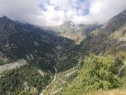 Testata della Valle Cervo dalla cima