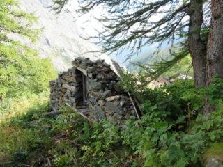 Quel che resta dell' alpe Belvedere