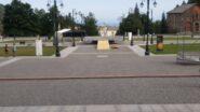 Lavori in corso ad Oropa in vista della V Centenaria di domenica 29-08
