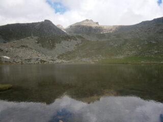 la cima vista dal lago