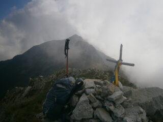 in cima alla rocca delle Sommette