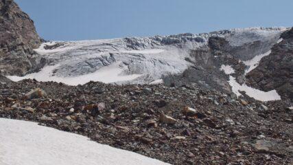 accesso al ghiacciaio secco