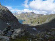 Da sotto il Colle Altare sguardo verso il Lago della Rossa, la Cresta del Fort ed il Gruppo della Ciamarella.