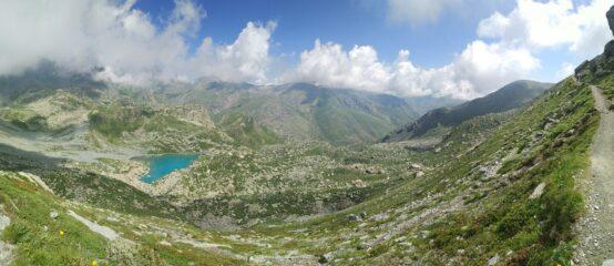Panoramica sopra il Chiaretto