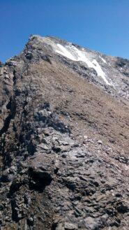 Sulla cresta ovest dello Chalanson (via normale)