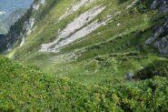 Tornanti del sentiero per Passo di Biordo