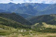 Valle del Rio Vasca percorsa in salita
