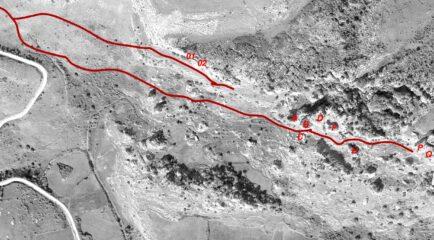 la mappa dell'area