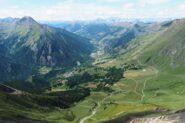 la Val Chisone dalla Vetta