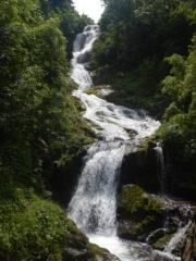 Seconda cascata del Saut