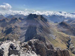 Dalla Punta la Cresta Percorsa