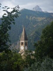 Campanile parrocchiale di Elva