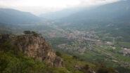 Ottima vista sulla valle