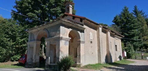 San Bernardo di Breia la partenza