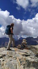 Uno sguardo sulle alte cime del Delfinato dalla cima