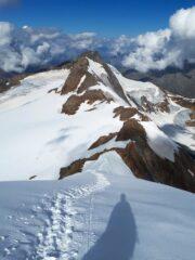 Cresta verso il Tresero.