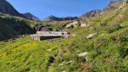 Alpeggi Grauson nuove (o superiori) dove tempo addietro era ubicato il Bivacco Tentori