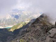Il lago di Ceresole dalla cima.