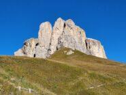 Gruppo del Sella visto dal Passo Sella...1a, 2a e 3a torre