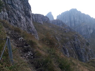 Panorama in uscita verso il Pian Serrada.