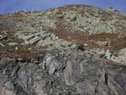 dalla stazione a monte degli impianti Basse Tete, risalita verso la cresta del Bortsalet