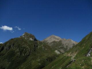 In alto Punta dei Camosci