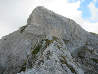 Cima delle Masche (m.2392) con parete nord delle Saline