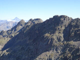 Monviso, Las Blancias e cime del Vallonetto e di Vens