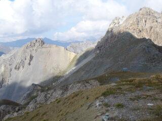 Il Bric e rocca Peroni dal passo La Croce