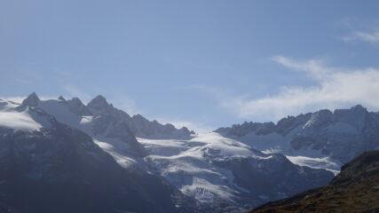 Cresta Paganini, ghiacciaio di Money, Torre del Gran San Pietro, Col Money