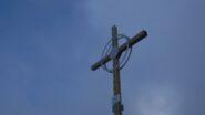 La nuovissima croce di vetta