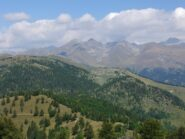 Panorama dalla vetta del Maoune