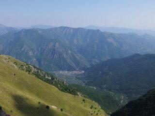 La conca di Breil dalla Cime de Gonella