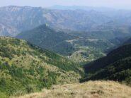 Il Col de Brouis dalle pendici del Mangiabo