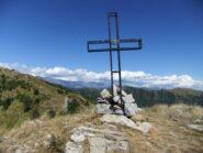 In vetta al Monte Albaspino