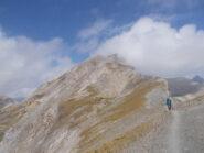 la cima dalla Bassa Terre Rosse
