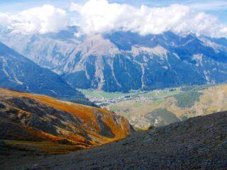 vista su Valle di Cogne